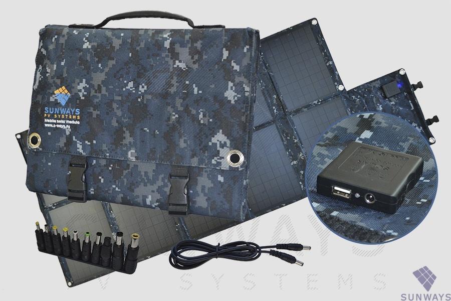 картинка Мобильная СЭС Sunways FSM-100М от магазина Одежда+