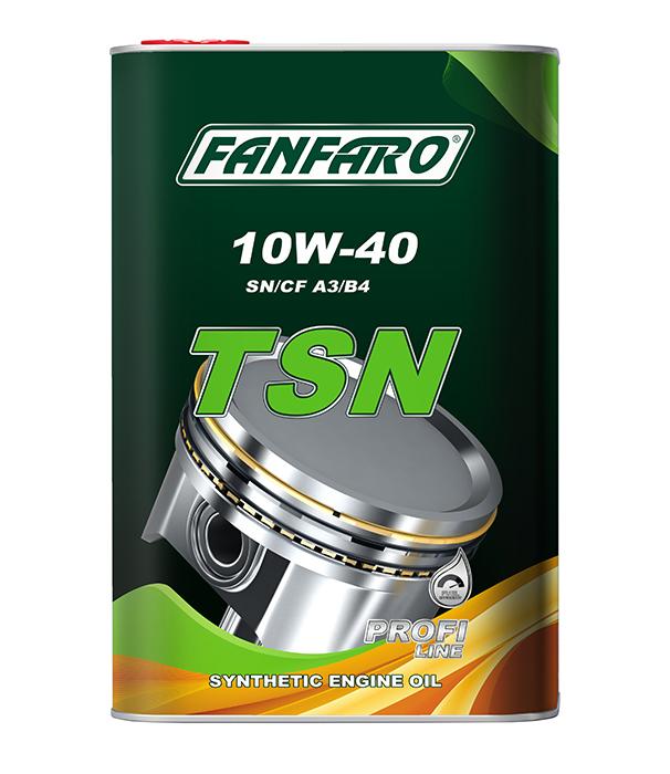 Моторное масло Fanfaro 10w40 SM/CF 6704 TSN METAL 5л купить в Донецке и Макеевке, ДНР