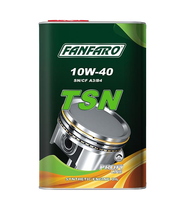 Моторное масло Fanfaro 10w40 SM/CF 6704 TSN METAL 1л купить в Донецке и Макеевке, ДНР