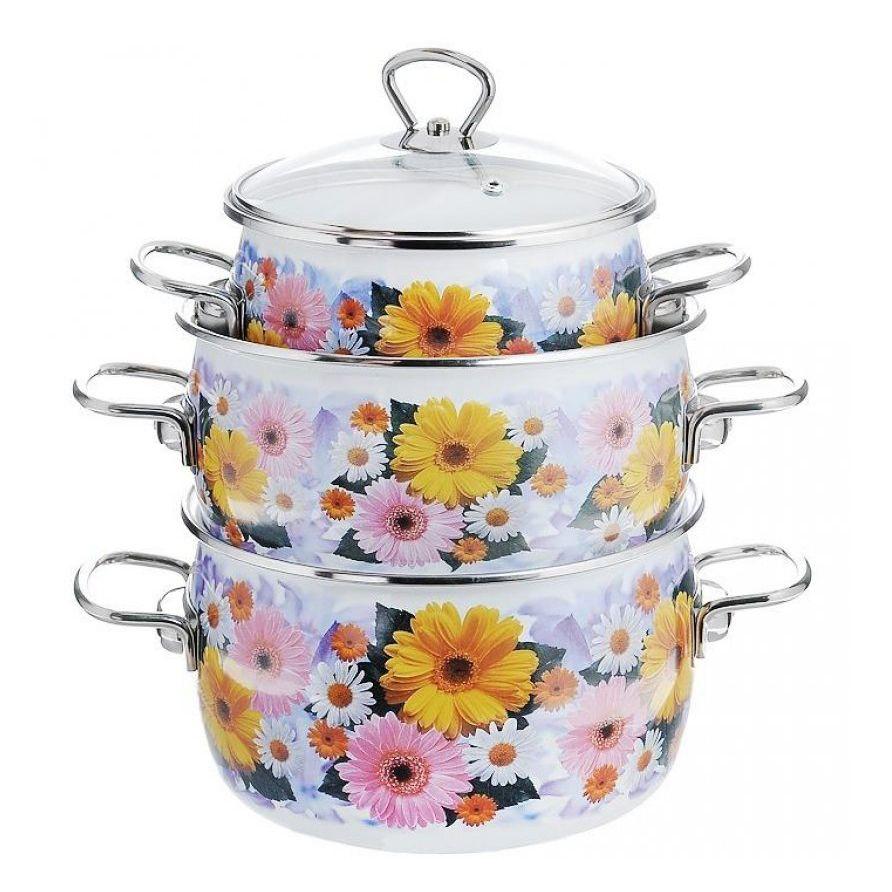 фотосъемка комплекта посуды кастрюль