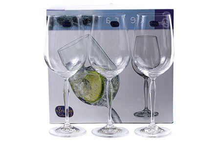 Фотосъемка стеклянной посуды раскладкой