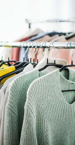 Подготовка одежды для фотосъемки в студии