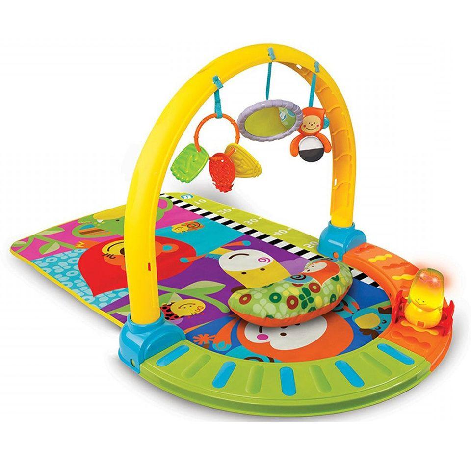 Съемка развивающий коврик для малышей