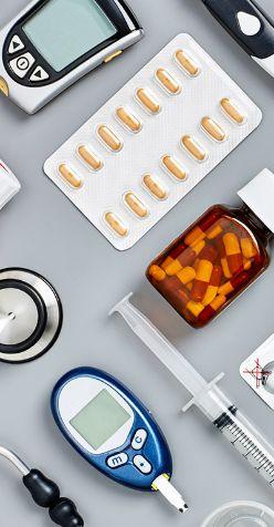 Подготовка лекарств и медицинской техники для фотосъемки