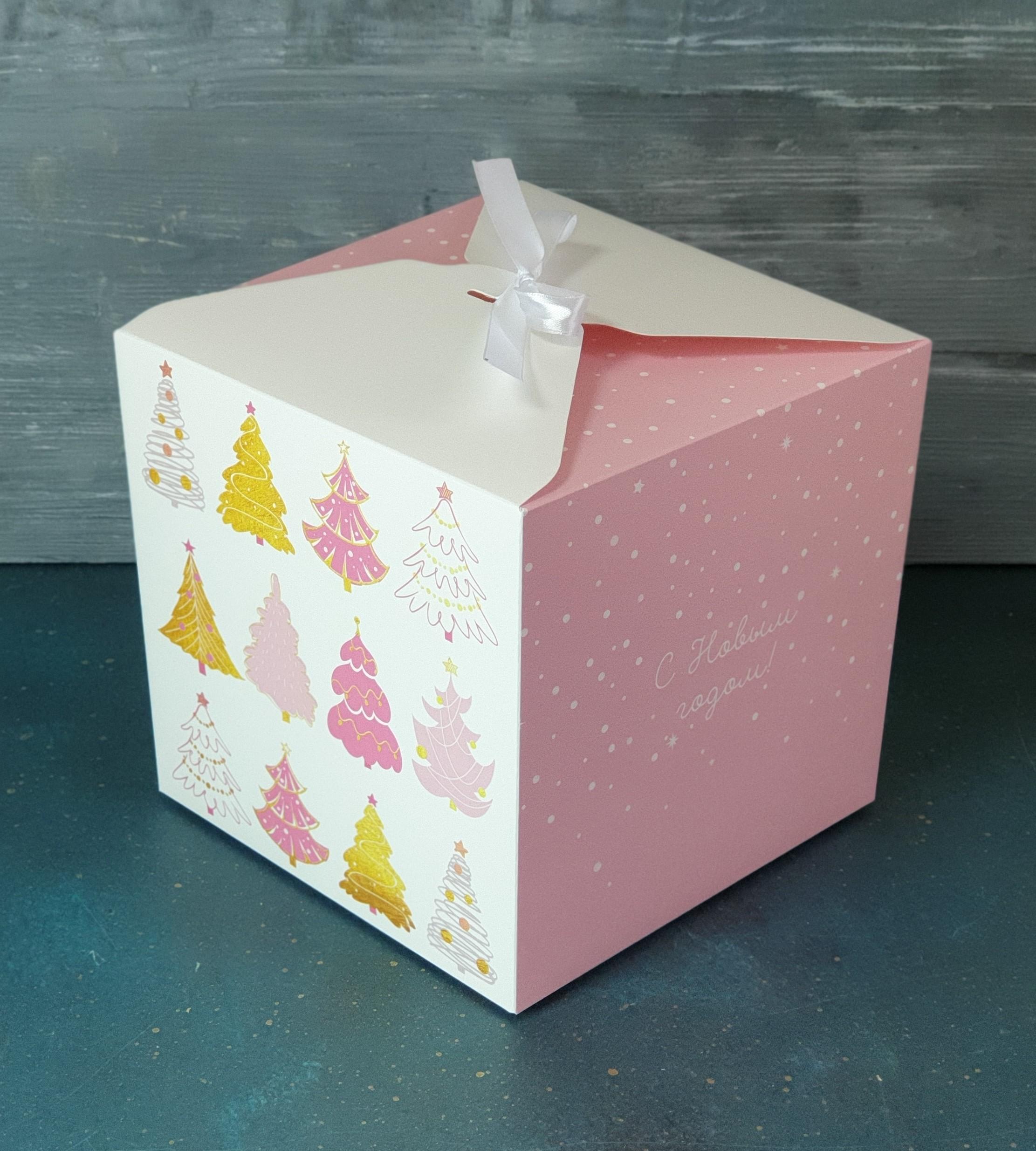 картинка Коробочка для кубика 16 см