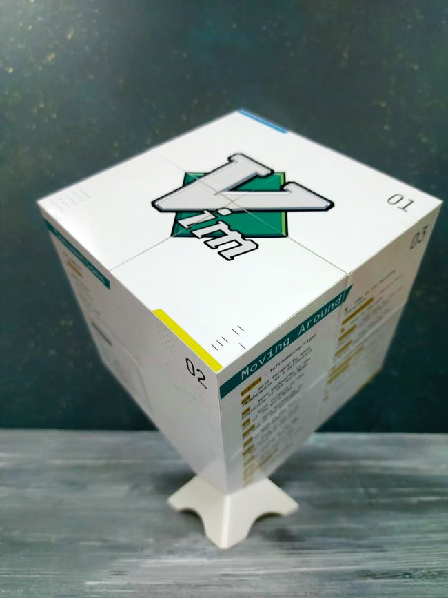 картинка Vim Cube - тактильная шпаргалка от магазина MagicFotoKub