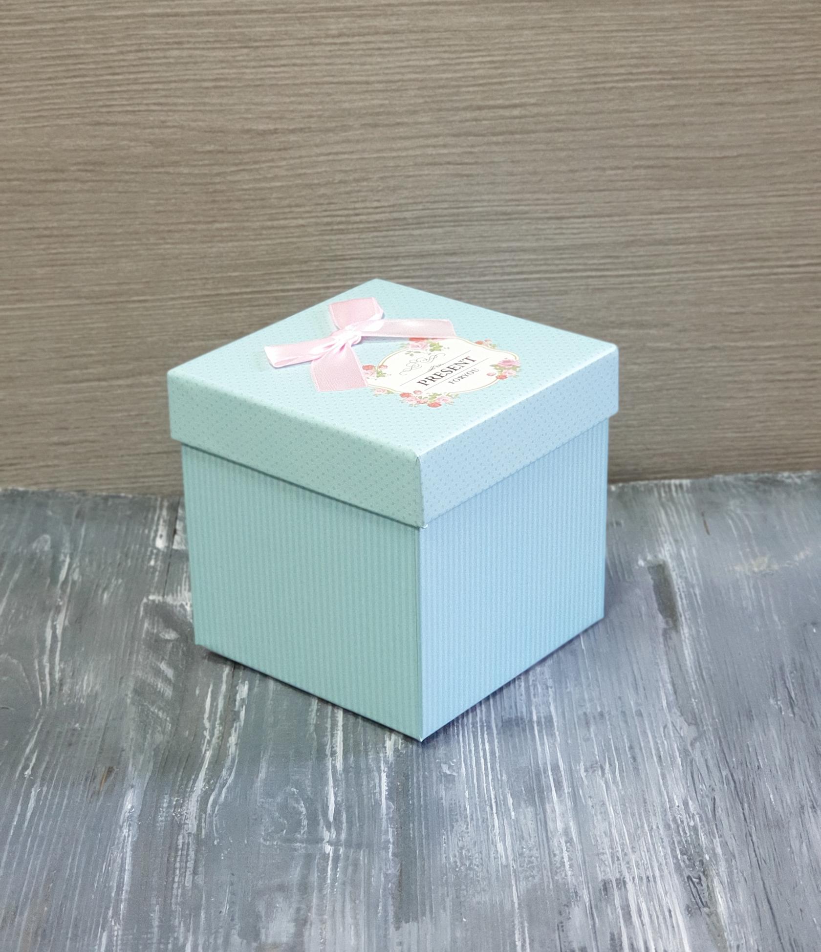 картинка Коробочка для кубика 10 см с крышкой