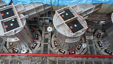 REMBE® взрыворазрядная панель EGV на сушильном циклоне в фабрике макулатурного картона