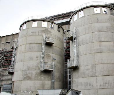 REMBE® взрыворазрядная панель EGV на бункере биомассы
