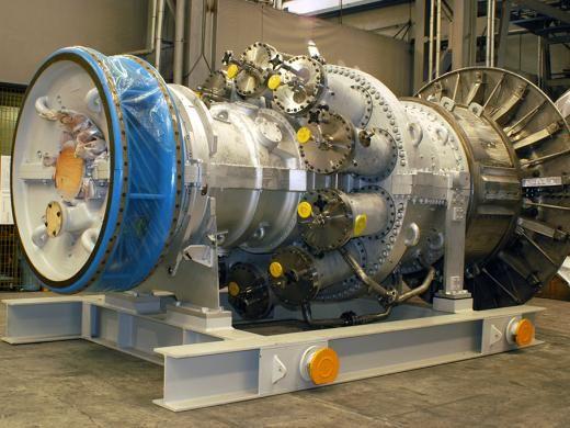 Сверхмощная газовая турбина MS6001 B  производства  Baker Hughes (Бейкер Хьюз)