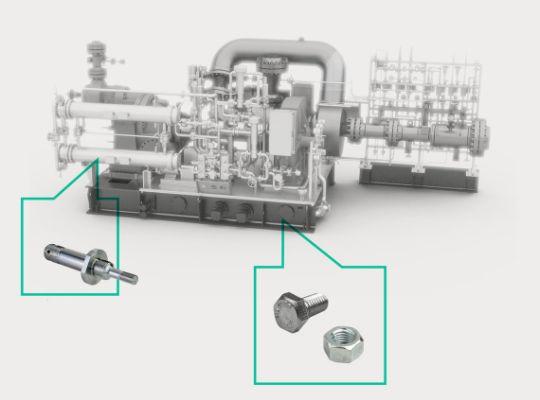 На весь срок службы машины. Оригинальные запасные части для ваших воздуходувок и компрессоров.