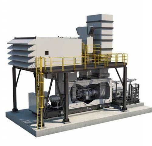 Газовая турбина NovaLT16 производства  Baker Hughes (Бейкер Хьюз)