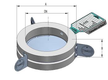 Технические данные держателя разрывного диска IG