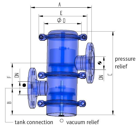 Технические данные ELEVENT® для применений с давлением и вакуумом