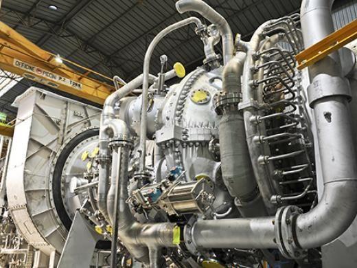 Сверхмощная газовая турбина MS5002 E производства  Baker Hughes (Бейкер Хьюз)