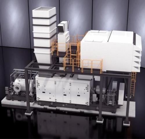 Газовая турбина NovaLT12 производства  Baker Hughes (Бейкер Хьюз)