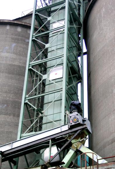 REMBE® взрыворазрядная панель EGV на элеваторе для зерна