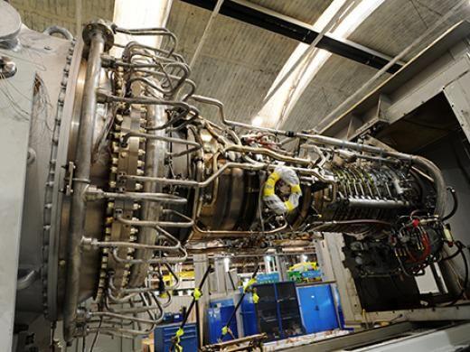 Аэродеривативная газовая турбина PGT25+