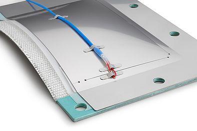 REMBE® взрыворазрядная панель ODICV с блоком сигнализации