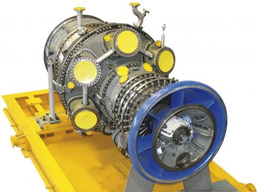 Сверхмощные Газовые Турбины Простые, надежные конструкции с проверенной производительностью по всему миру