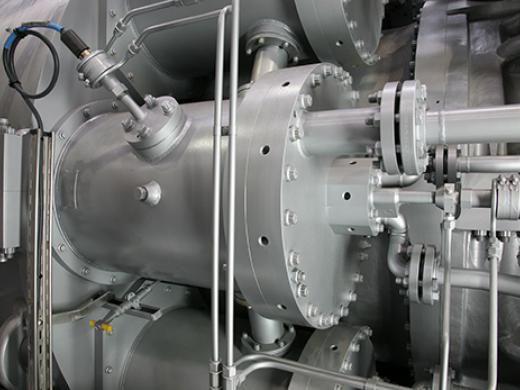 Сверхмощная газовая турбина MS7001 EA производства Baker Hughes (Бейкер Хьюз)