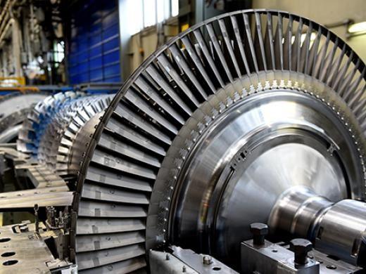 Сверхмощная газовая турбина MS5001 PA производства  Baker Hughes (Бейкер Хьюз)
