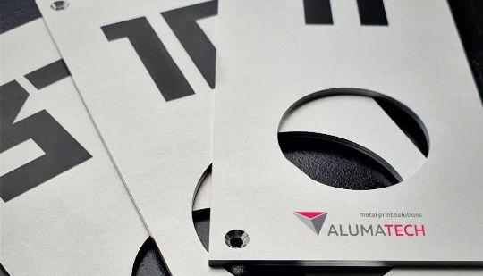 номерки из алюминия
