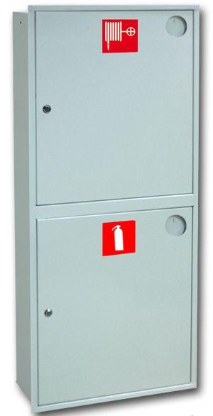 картинка Шкаф пожарный ШПК-320 ВЗБ. встроенный закрытый белый от магазина