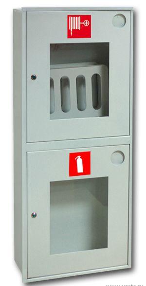 картинка Шкаф пожарный ШПК-320 ВОБ. встроенный открытый белый  от магазина
