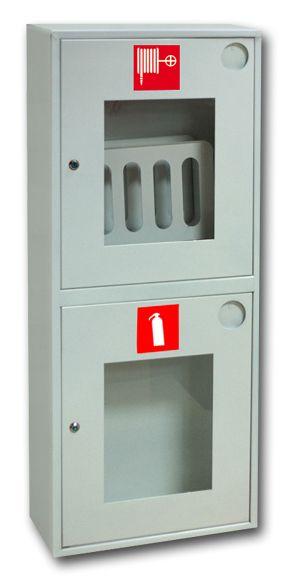 картинка Шкаф пожарный ШПК-320 НОБ. навесной открытый белый от магазина