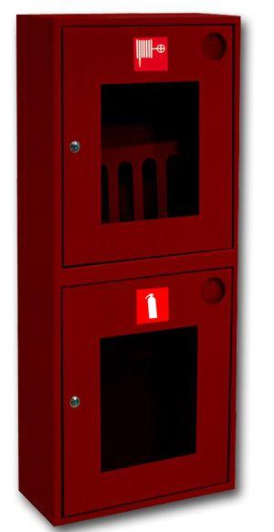картинка Шкаф пожарный ШПК-320 НОК. навесной открытый красный от магазина