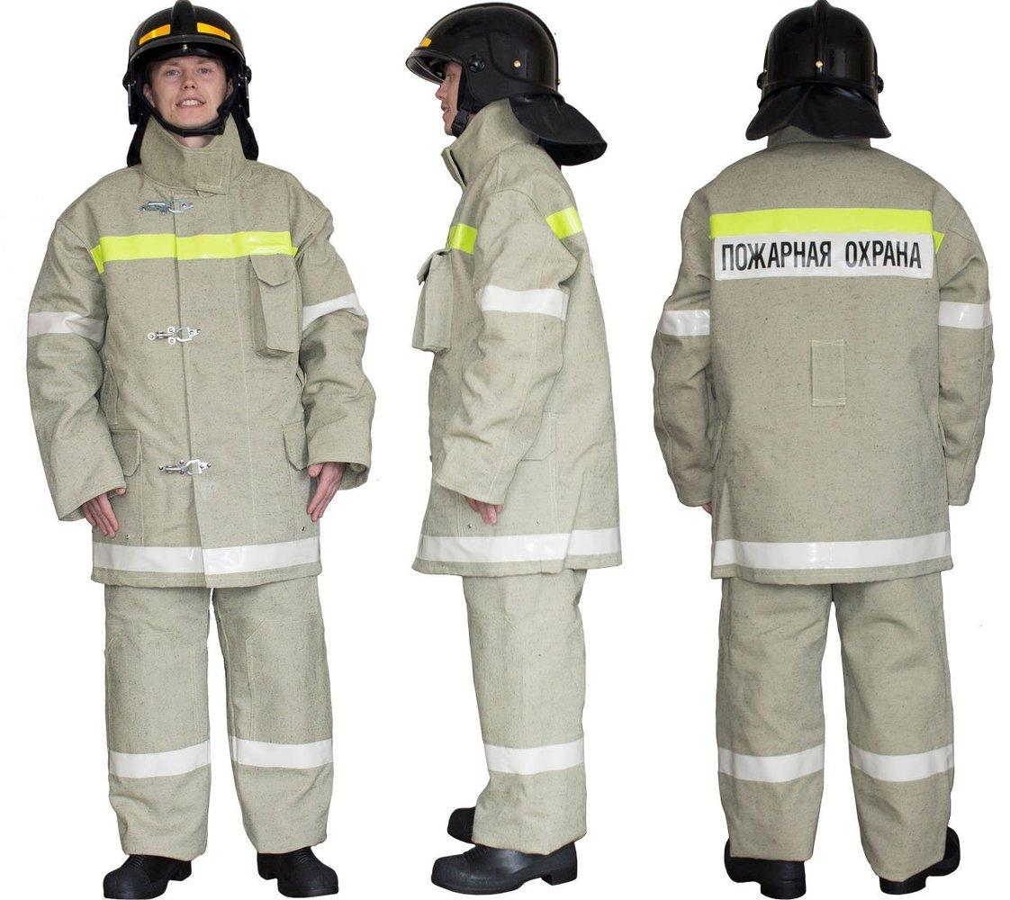 картинка Боевая одежда пожарного БОП-1 тип У для рядового состава болотный цвет от магазина