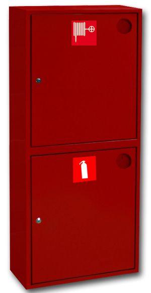 картинка Шкаф пожарный ШПК-320 НЗК. навесной закрытый красный от магазина