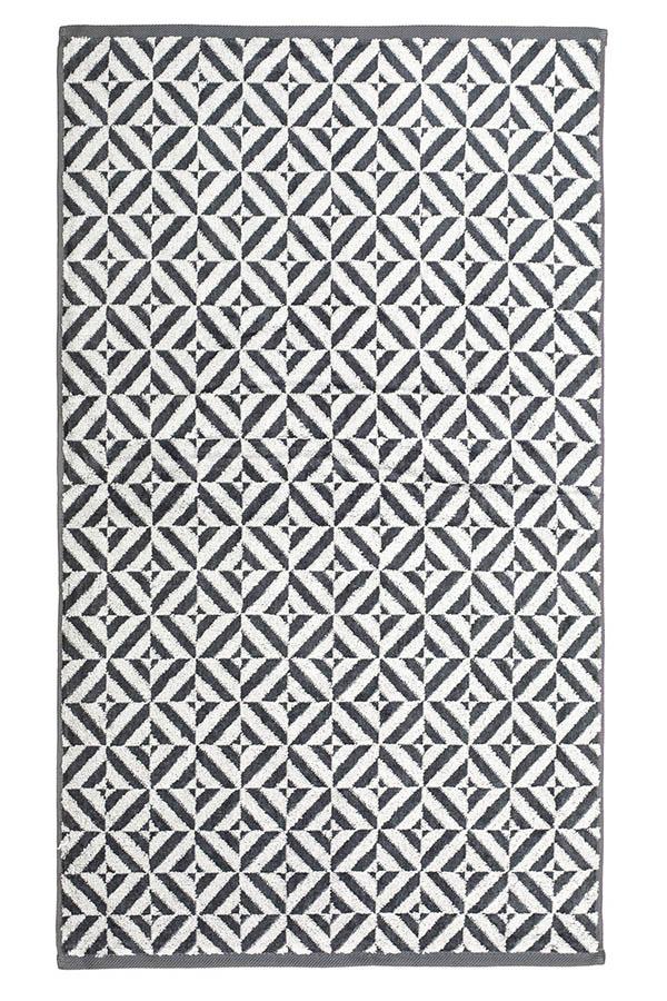 картинка Махровое полотенце 34*76 темно-серый от магазина Одежда+