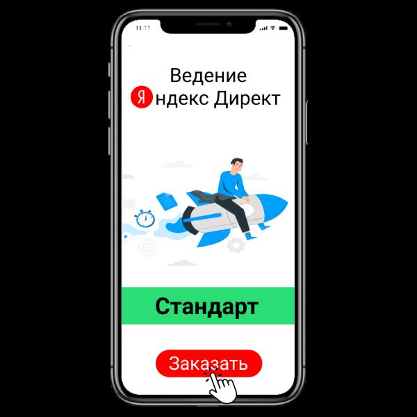 """Ведение рекламных кампаний Яндекс Директ """"Стандарт"""" в Digital CashFlow"""