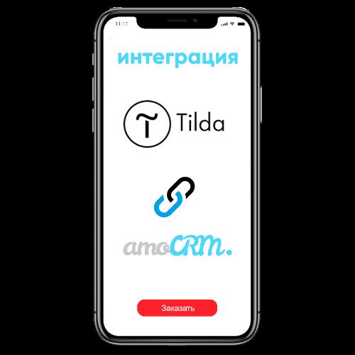 Интеграция сайта на Tilda c AmoCRM в Digital Agency CashFlow
