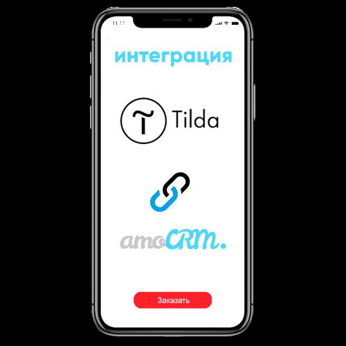Интеграция сайта на Tilda c amoCRM в Digital CashFlow