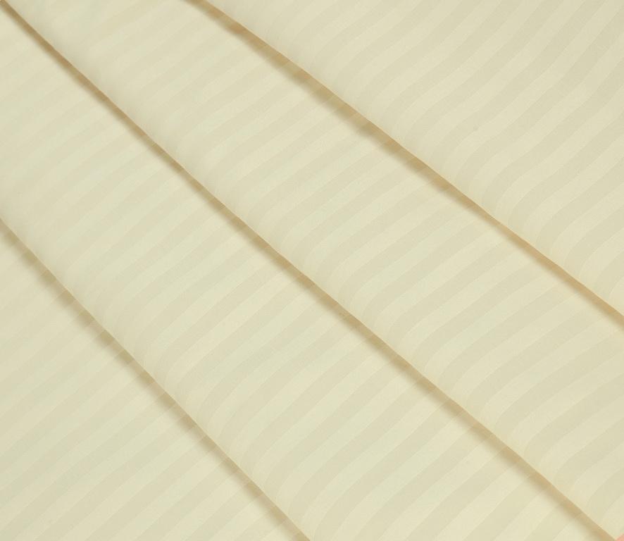 Простыня сатин страйп премиум цветная на резинке