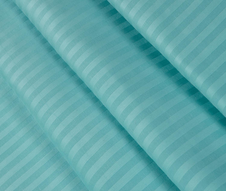 Простыня сатин страйп премиум цветная