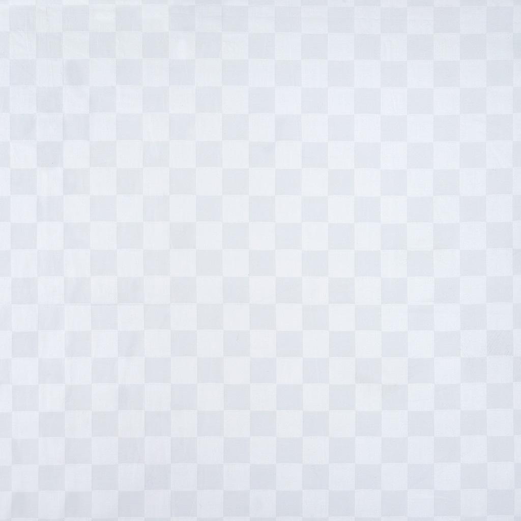 Простыня сатин страйп премиум белая на резинке