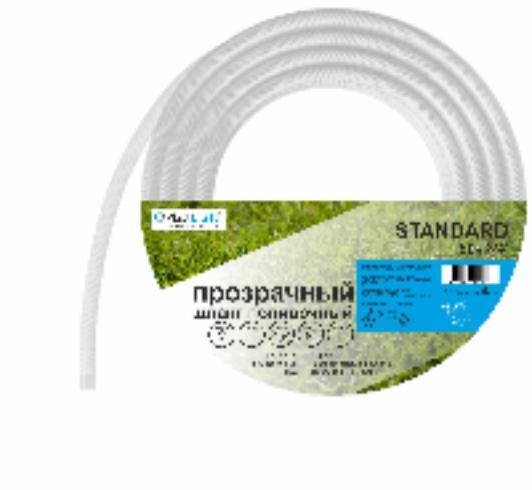 """картинка Шланг поливочный армированный 3 слойный ПВХ 3/4"""", 30 м, """"Standard"""" PlastCraft от от PlastCraft"""