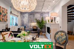 Кабель премиум класса VOLTEX на кухне-гостиной с берегов Миссисипи и Старомосковской квартире с итальянским акцентом