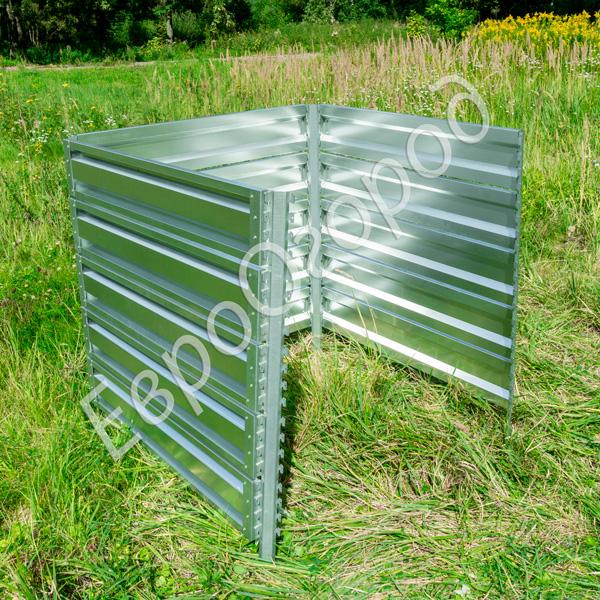 Расширитель оцинкованного компостера Премиум 113x113 см