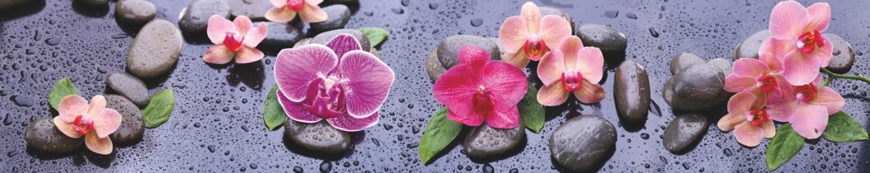 """картинка Фартук """"Орхидеи после дождя"""" от магазина Одежда+"""