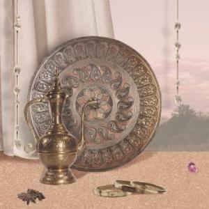 """картинка Фартук """"Марокканский кофе"""" от магазина Одежда+"""
