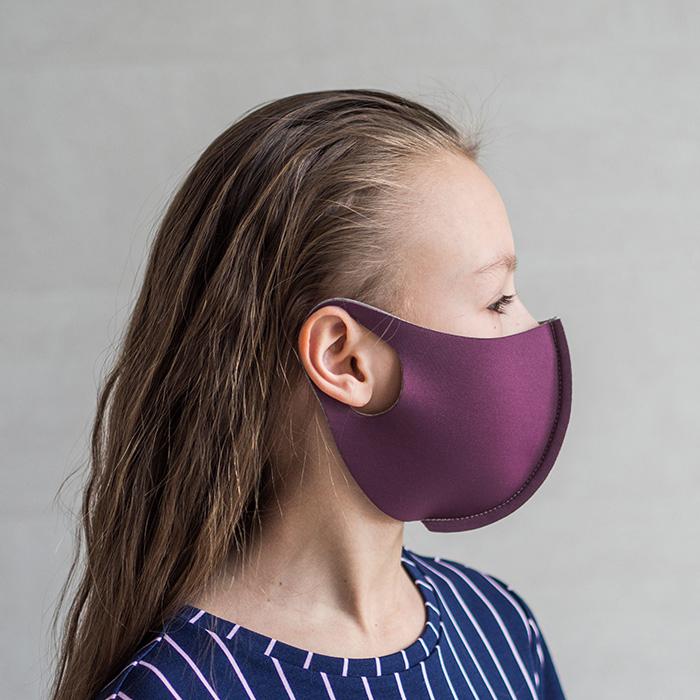 """картинка Детская защитная маска """"Фиолетовый"""" от магазина Одежда+"""