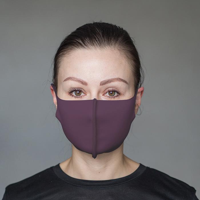 """картинка Взрослая защитная маска """"Фиолетовый"""" от магазина Одежда+"""