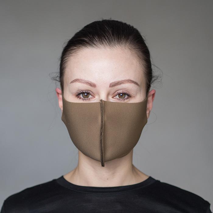 """картинка Взрослая защитная маска """"Мокко"""" от магазина Одежда+"""