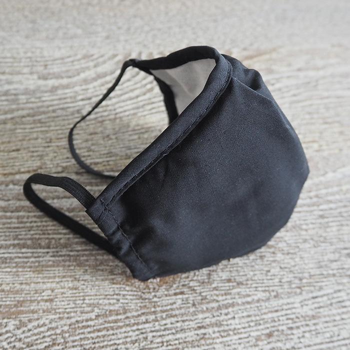 """картинка Угольная маска """"Черный"""" от магазина Одежда+"""