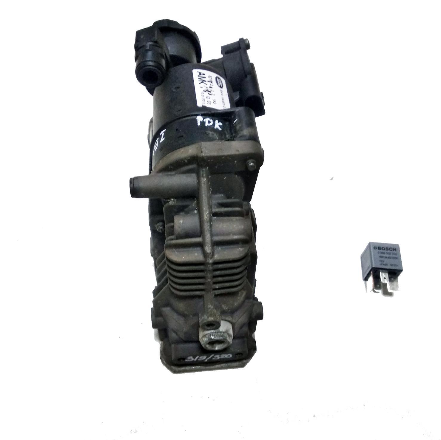 картинка Оригинальный восстановленный компрессор пневмоподвески AMK LR072537 для Land Rover L319 Discovery 3 4 / L320 Range Rover Sport от магазина пневмоподвески ПневмоМаркет